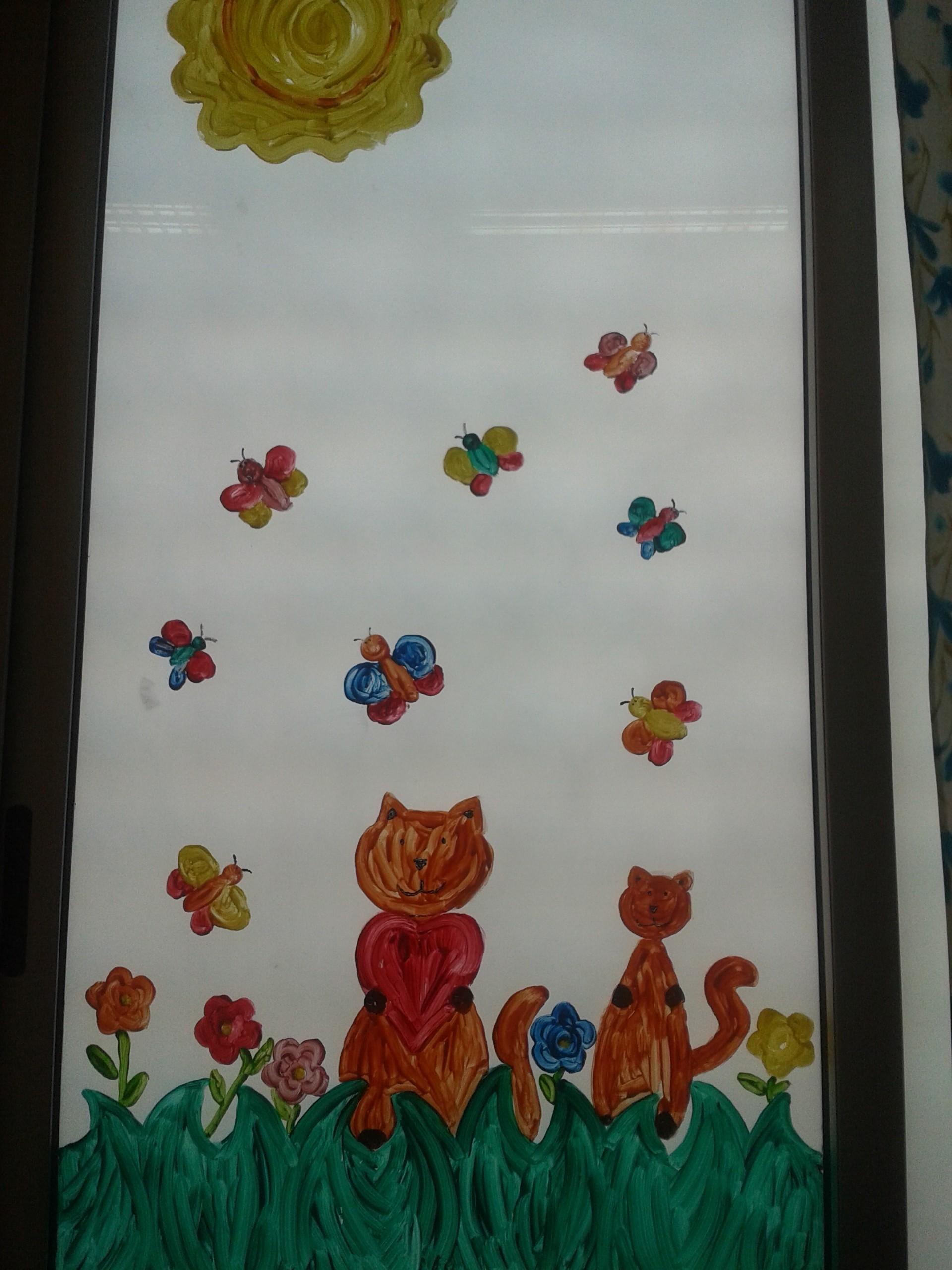 Addobbi primaverili 1 e1395645510199 maestramaria - Decorazioni primaverili per finestre ...