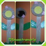 fiori con stecche di gelato