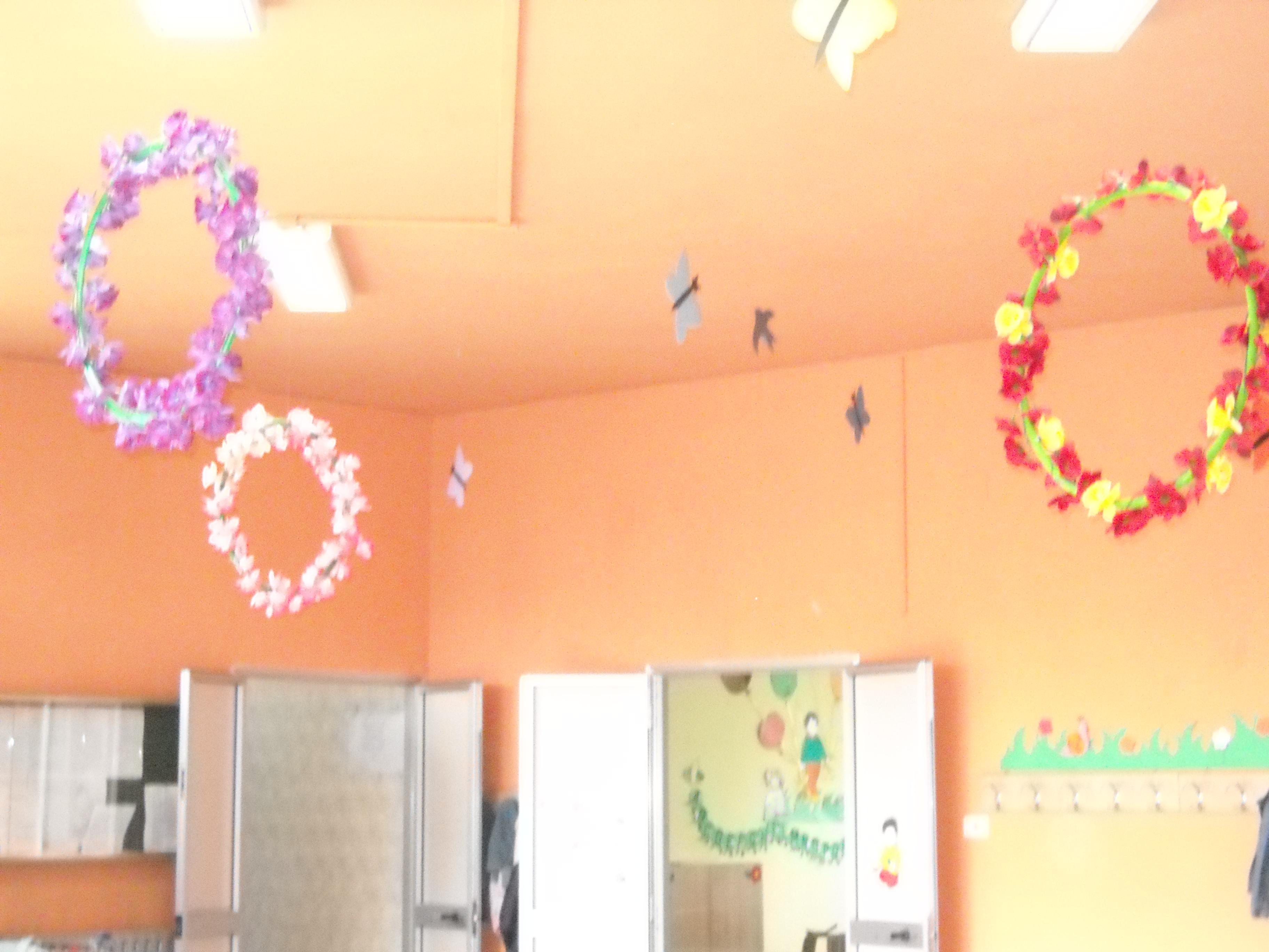 Lavoretti e addobbi primavera filastrocche canti for Addobbi per accoglienza scuola infanzia