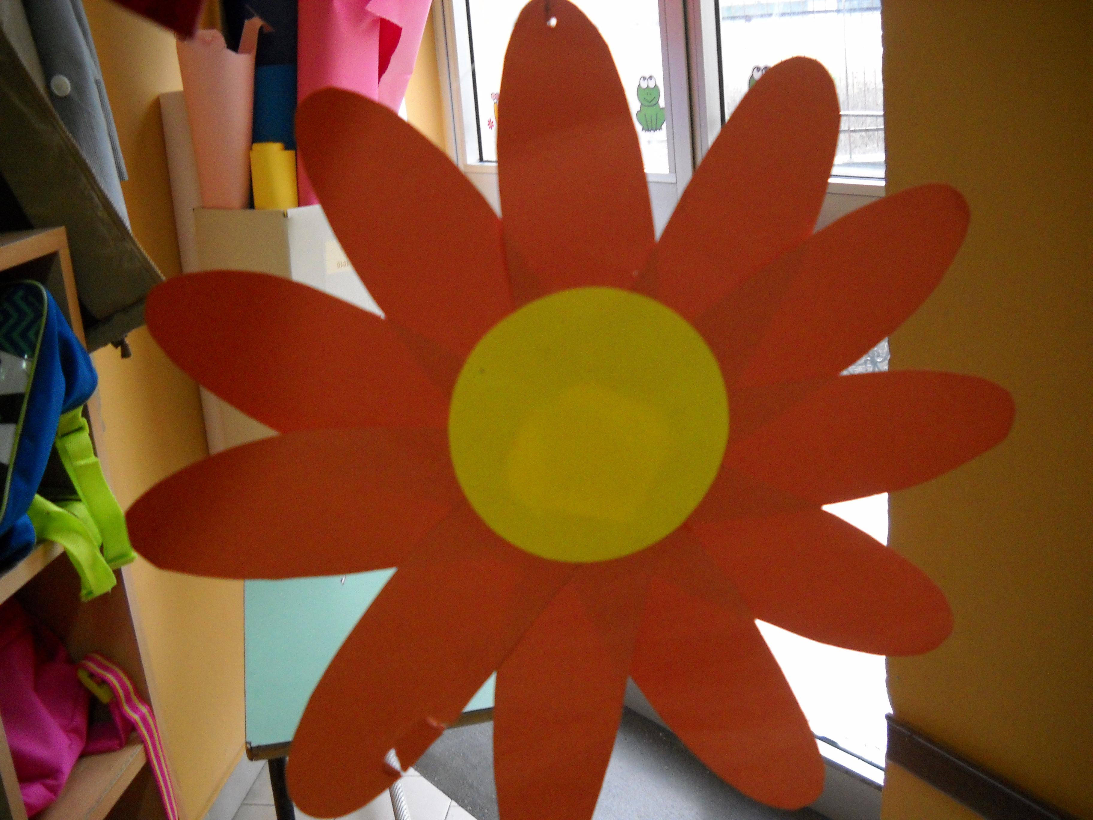Margheritona per addobbare aula maestramaria - Addobbi primavera per finestre ...