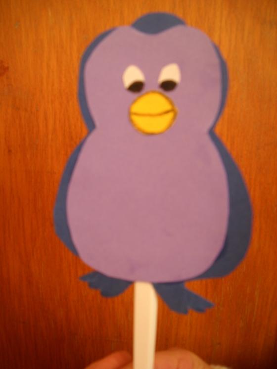 pinguino Con il cucchiaio