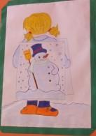 Inverno cartellone per aula