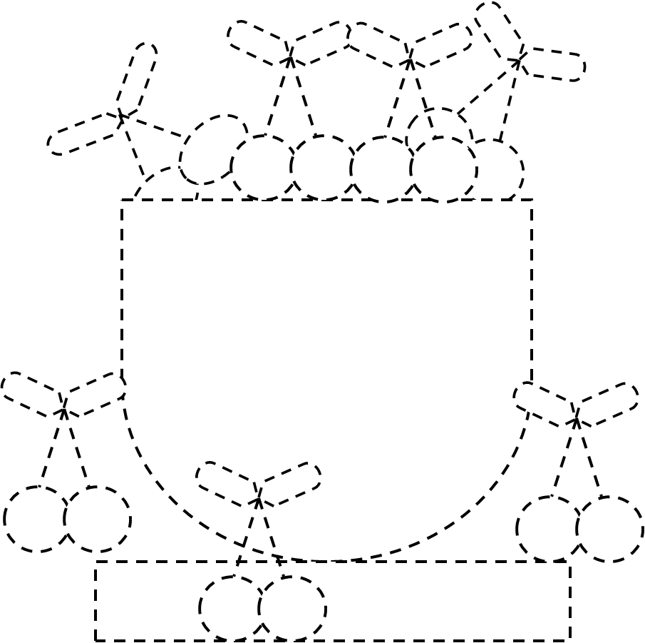 Le ciliegie maestramaria for Disegni da colorare ciliegie