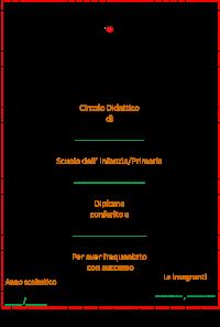 diploma colorato