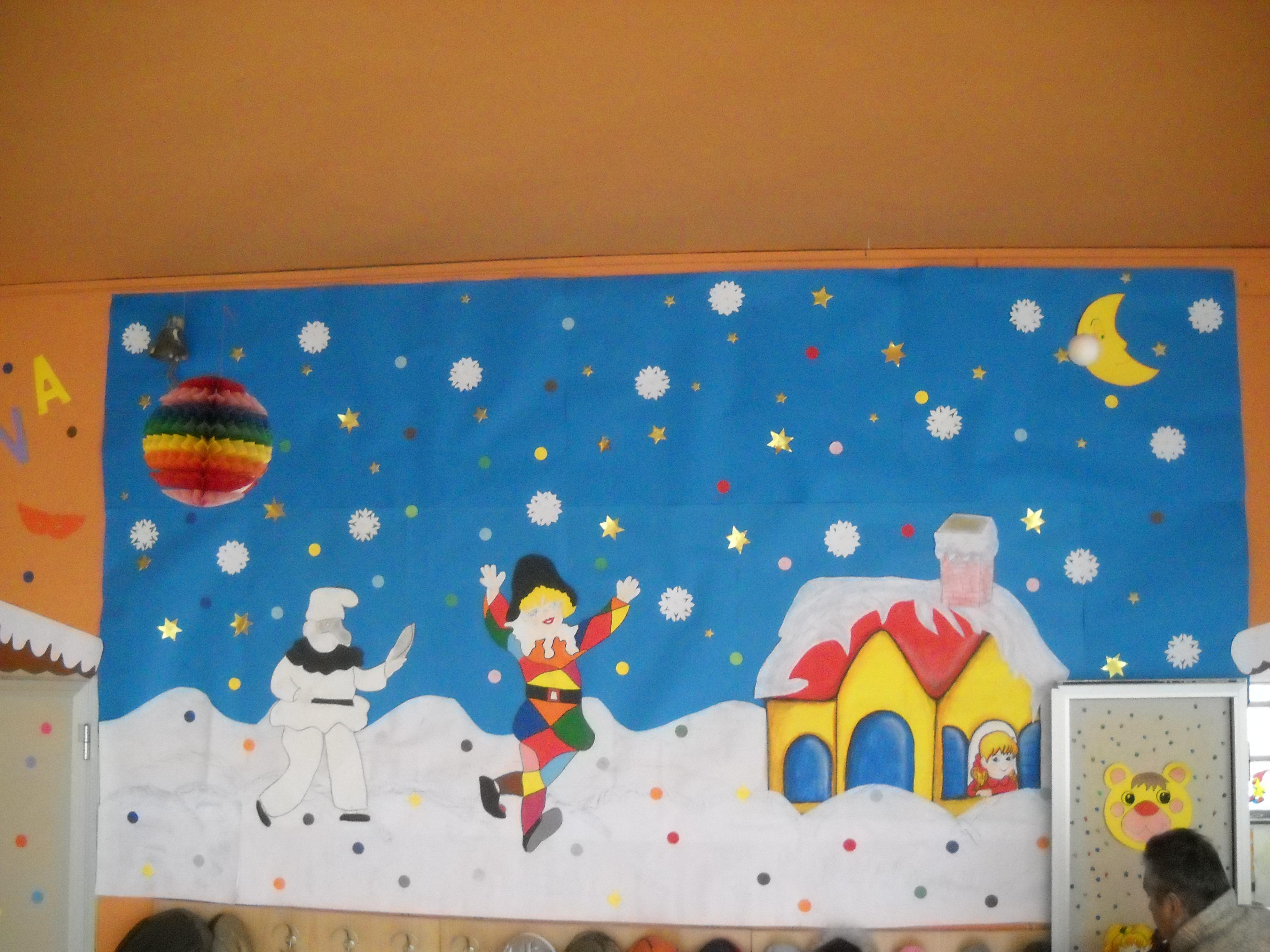 Addobbi di carnevale maestramaria for Addobbi inverno scuola dell infanzia