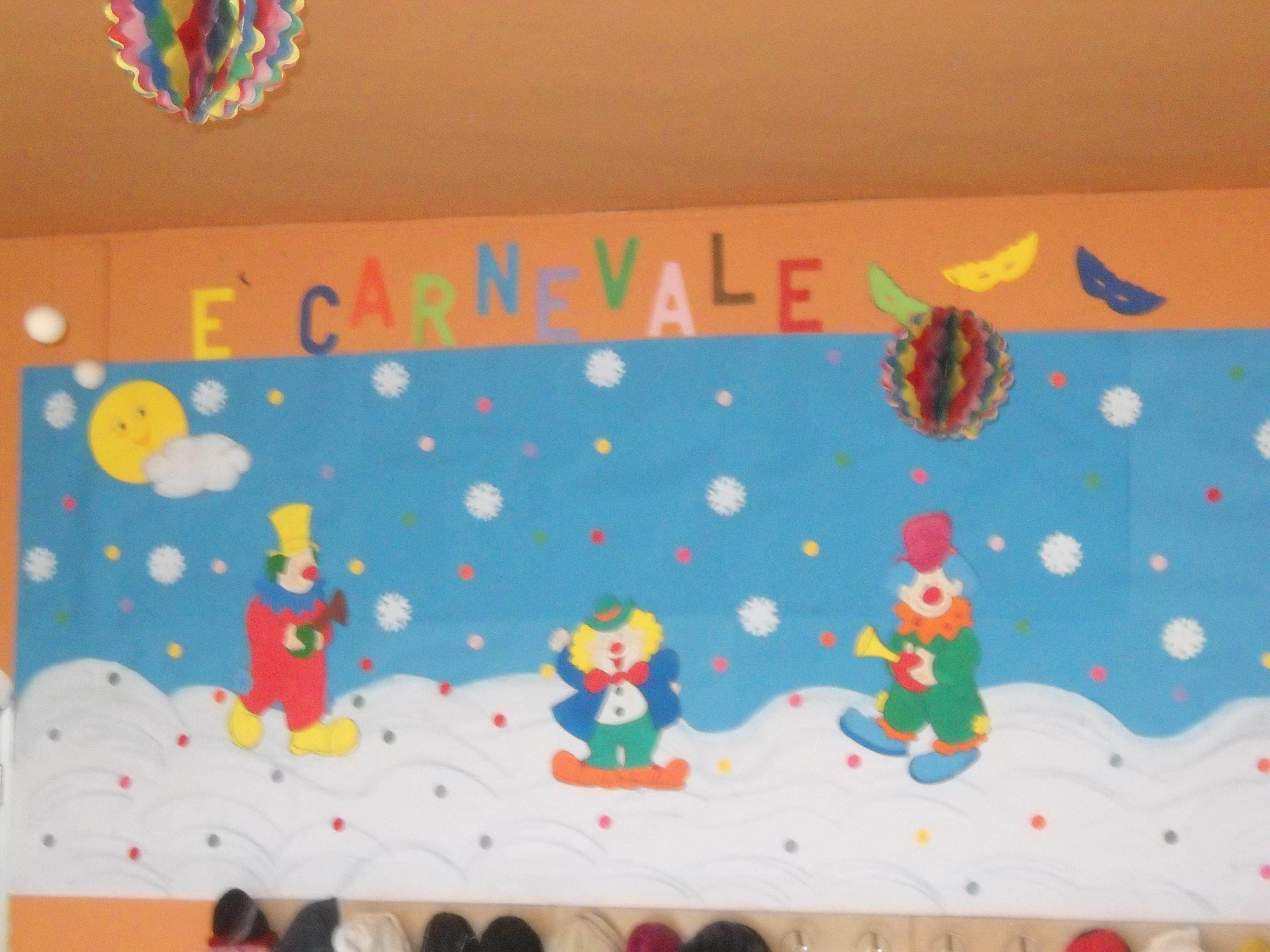Carnevale addobbi scuola maestramaria for Addobbi per accoglienza scuola infanzia
