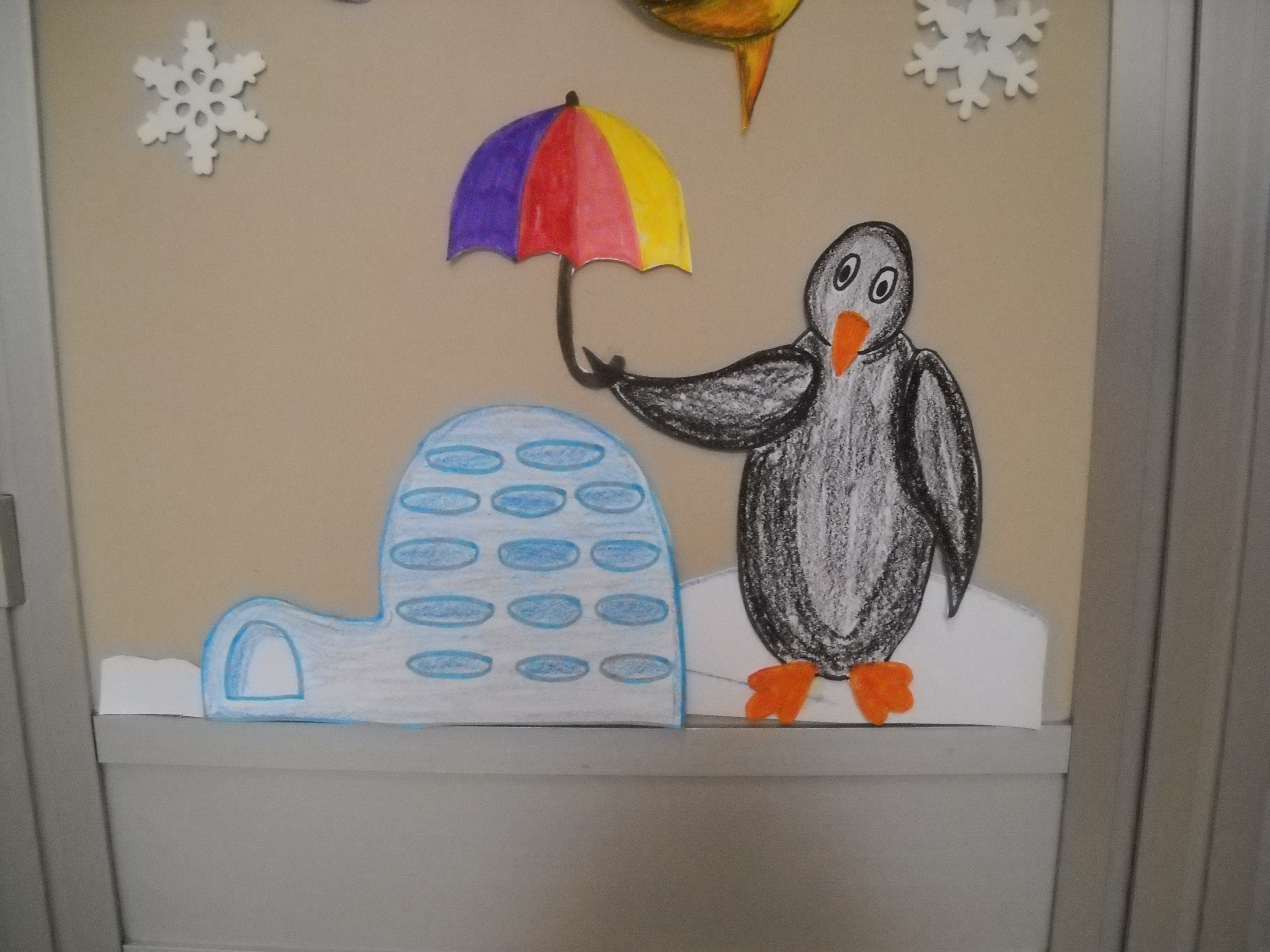 Inverno maestramaria - Addobbi finestre inverno scuola infanzia ...