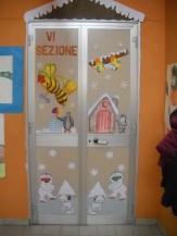 Maestramaria filastrocche canti poesie per l 39 infanzia for Porte natalizie scuola