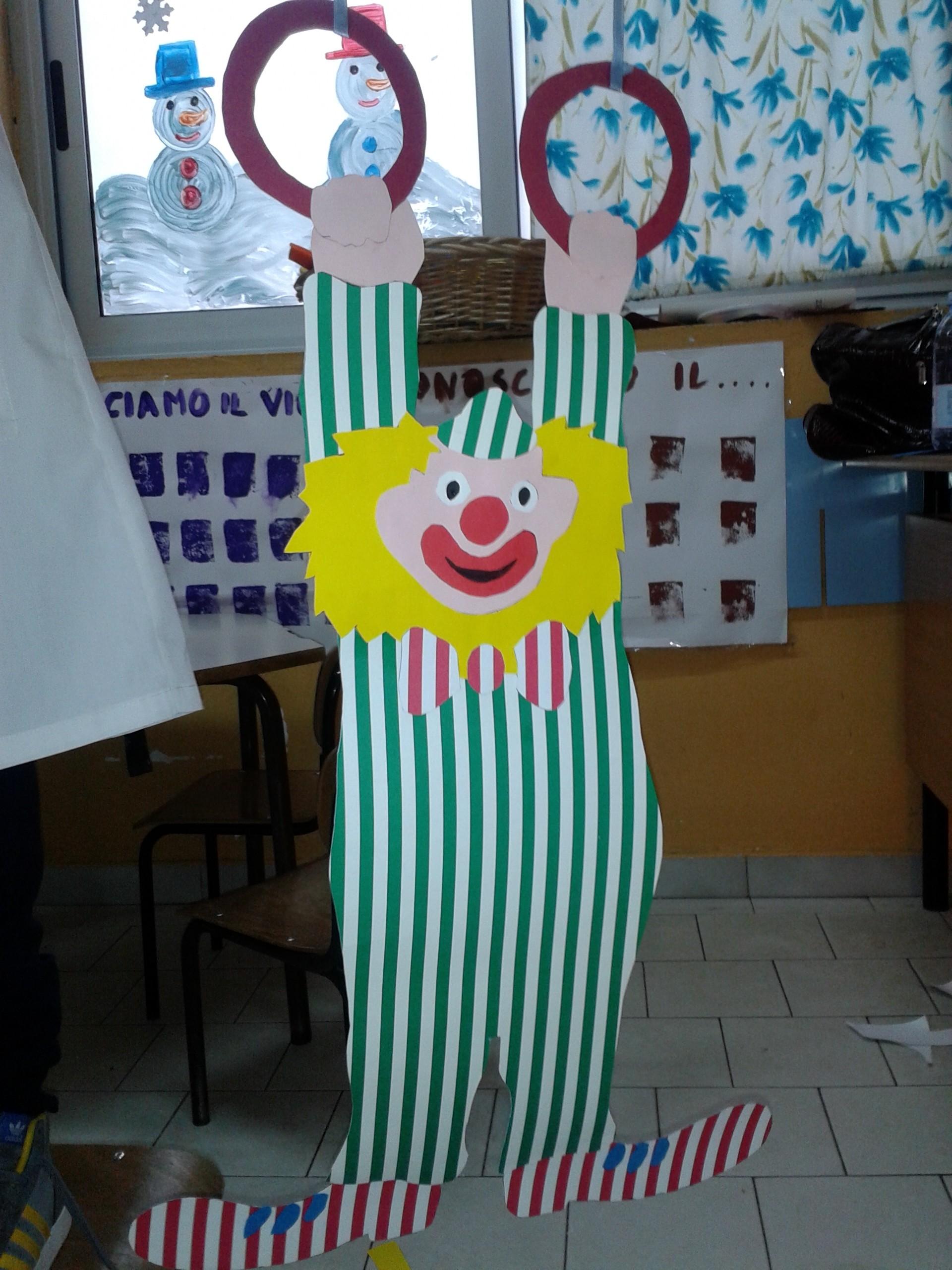 Clown maestramaria for Addobbi di carnevale per l aula