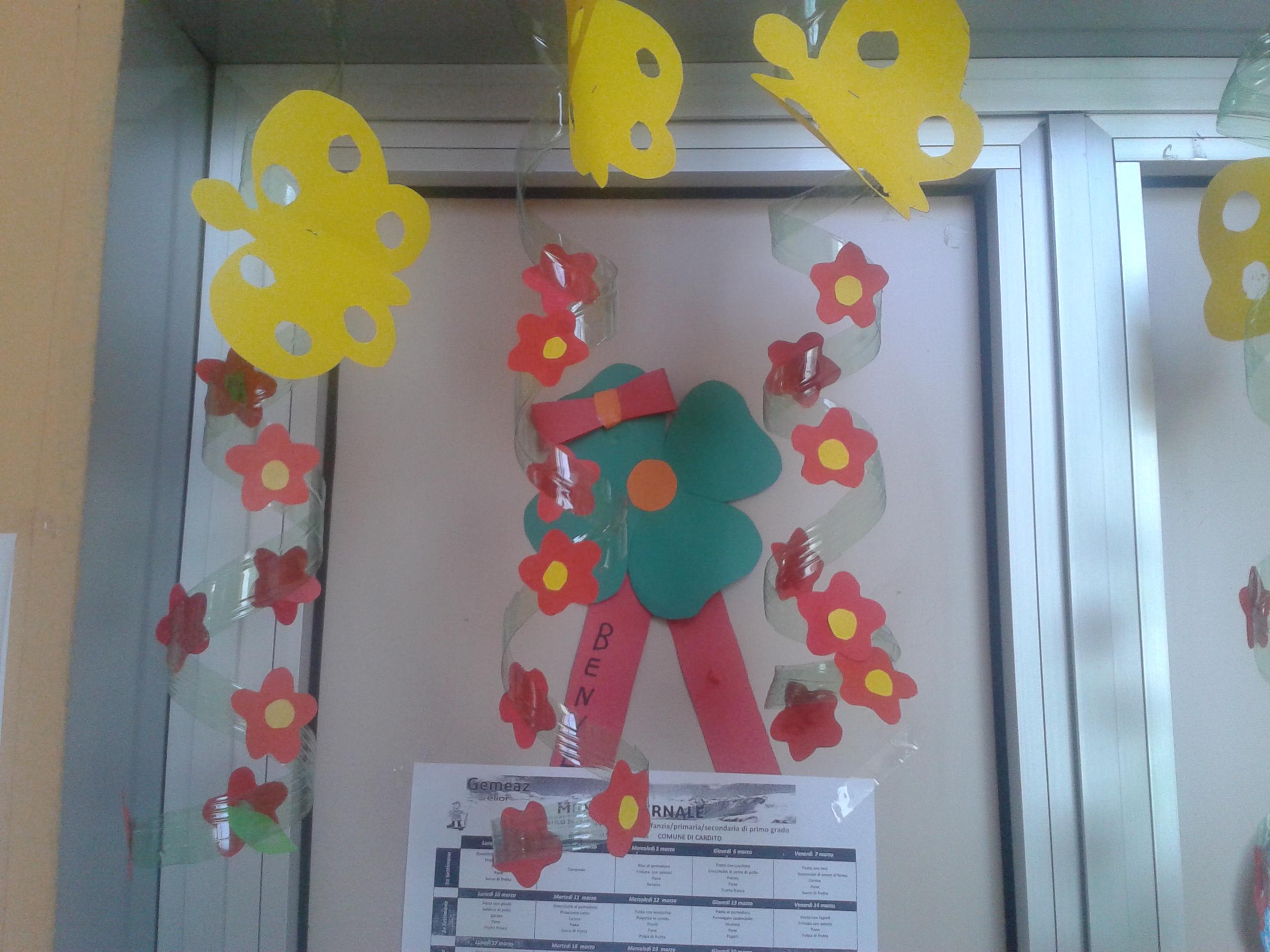 Addobbi per la primavera maestramaria for Addobbi autunno scuola infanzia