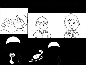 I cinque sensi filastrocche canti poesie per l for Schema corporeo scuola infanzia maestra gemma