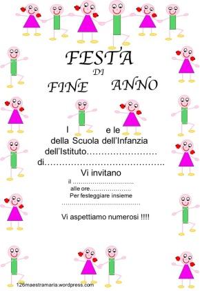 Fine Anno Scolastico Maestramaria