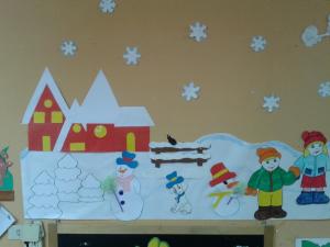 Poesie sull inverno maestramaria for Addobbi natalizi scuola primaria