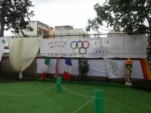 Allestimento miniolimpiadi