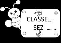 Striscioni cartelli bandierine per aula maestramaria for Cartelli porta aula scuola primaria