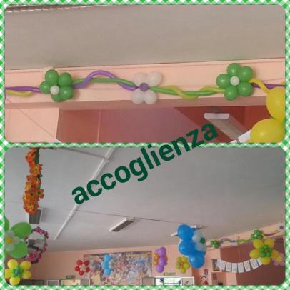 Accoglienza maestramaria for Addobbare la porta dell aula