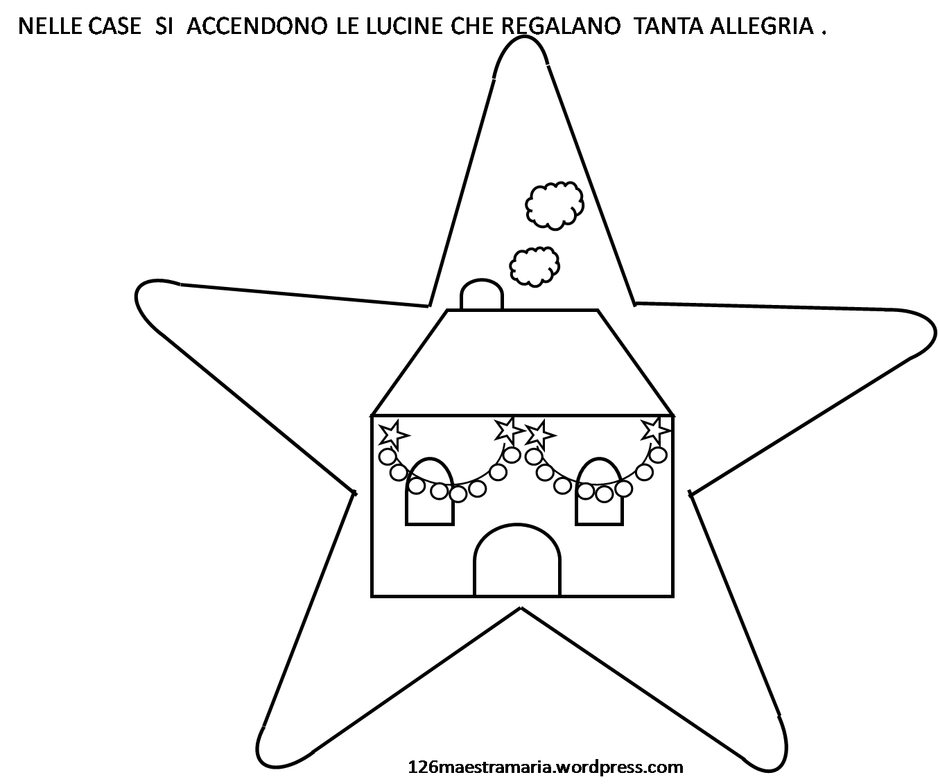 La Nascita Di Gesù Da Colorare Maestramaria