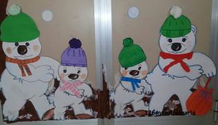 Adesso ci prepariamo per l inverno addobbi per aule e for Addobbi finestre inverno scuola infanzia