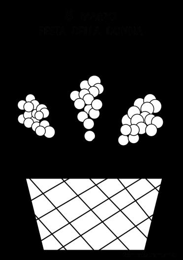 mimosa nel cestino