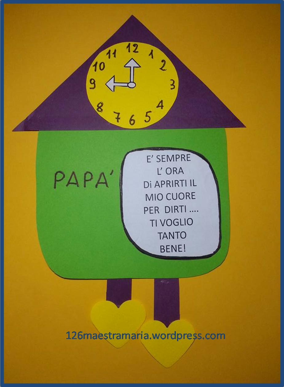 Estremamente Disegni e lavoretti per la festa del papà | Maestramaria XG69