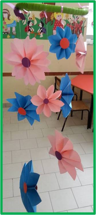 primavera addobbi per aula maestramaria On addobbi aula