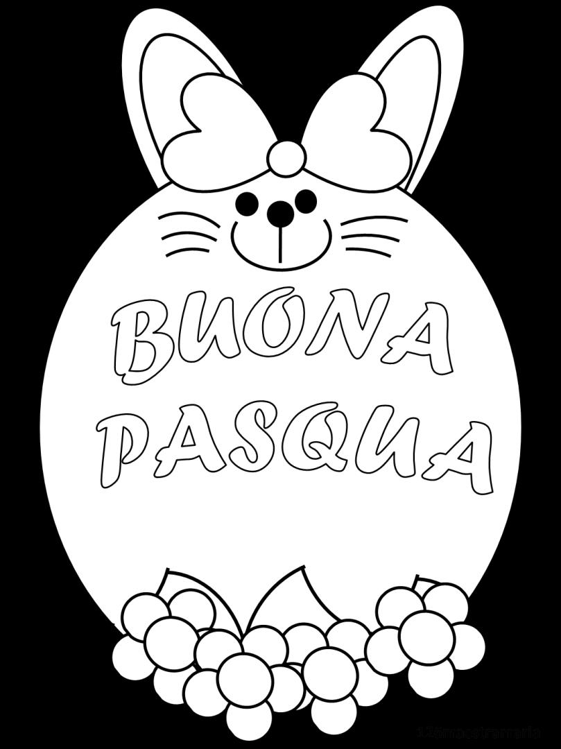 Simboli Della Pasqua Da Colorare Maestramaria