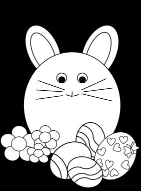 il coniglio nel prato