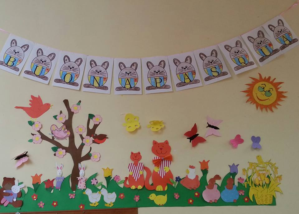 Primavera addobbi per aula maestramaria addobbi finestre scuola infanzia primavera - Addobbi primavera per finestre ...