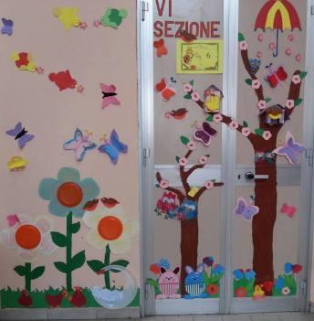Pregrafismo maestramaria for Addobbare la porta dell aula