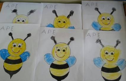 ape disegni