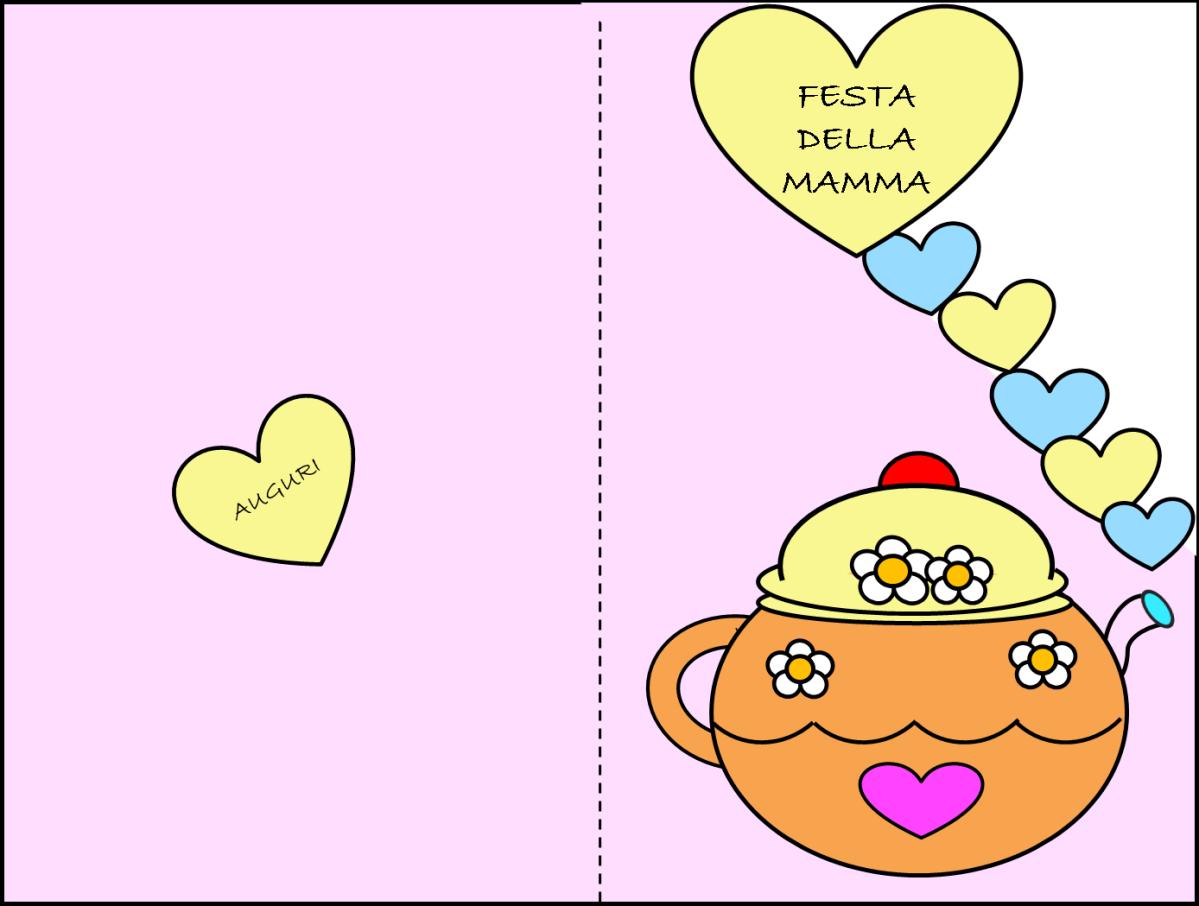 Biglietto Con Rosa Da Colorare: Poesia, Biglietto E Disegno Da Colorare Per La Festa Della