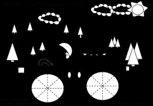 Disegni Da Colorare Sulle Forme Geometriche Maestramaria