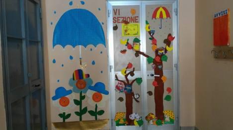 muralescon porta autunnale