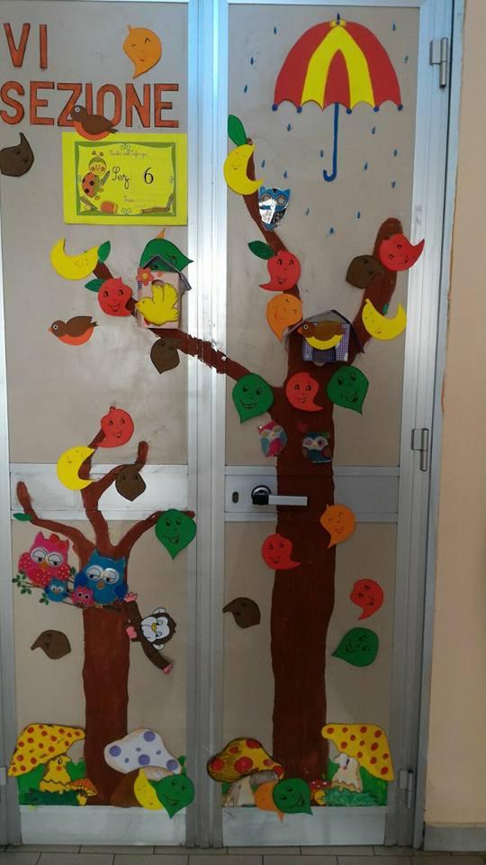 Addobbi e lavoretti per l autunno maestramaria for Addobbi autunno scuola infanzia