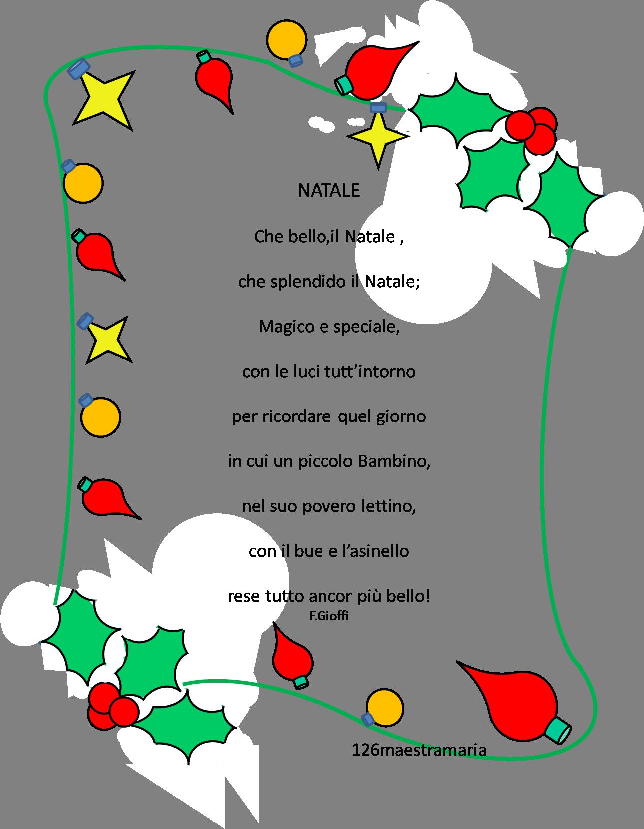 Filastrocche Di Natale Per Le Maestre Disegni Di Natale 2019