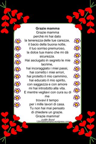 Festa Della Mamma Maestramaria
