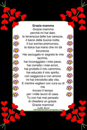 Poesie Per La Festa Della Mamma Maestramaria