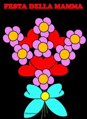Bouquet di fiori colorato