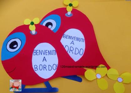 Accoglienza maestramaria for Lavoretti accoglienza scuola infanzia