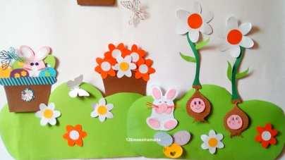 Lavoretti e addobbi primavera maestramaria for Addobbi di natale per bambini scuola infanzia