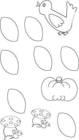 schema casetta autunno
