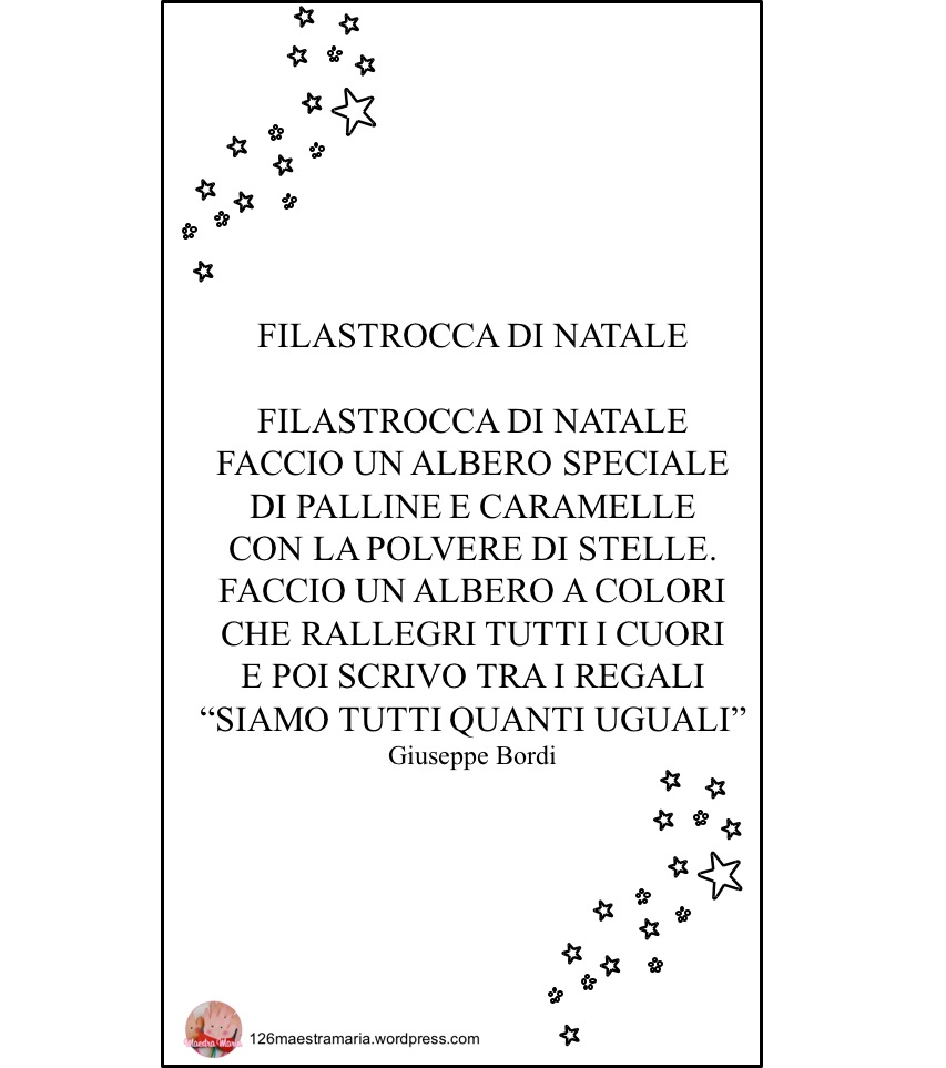 Poesie Di Natale In Rima.Poesie Maestramaria